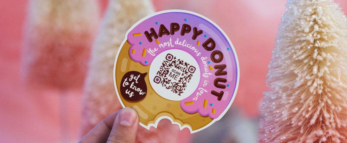 Donut_QR_code
